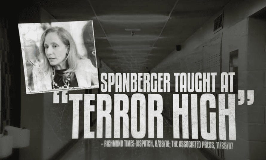 An attack ad against Democratic candidate in Virginia's seventh district asks: 'What is Abigail Spanberger hiding?'