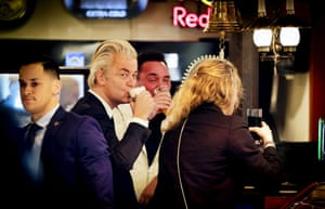 Volendam, The Netherlands Politician and leader of the Party for Freedom Geert Wilders