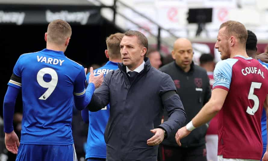 Brendan Rodgers was angry with the Leicester absentees following the 3-2 defeat at West Ham.