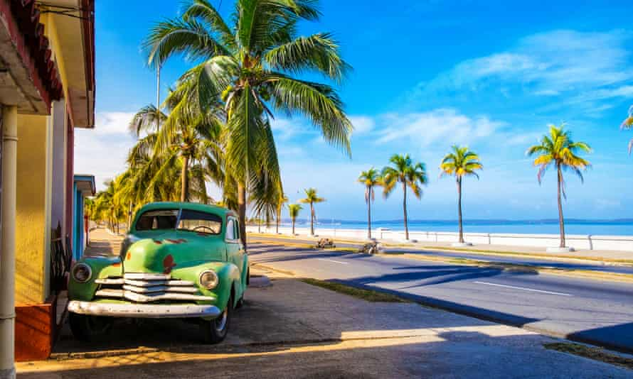 Vintage American cars are a common sight in Cuba.