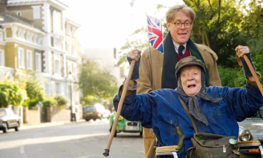 Alex Jennings and Maggie Smith in The Lady in the Van.