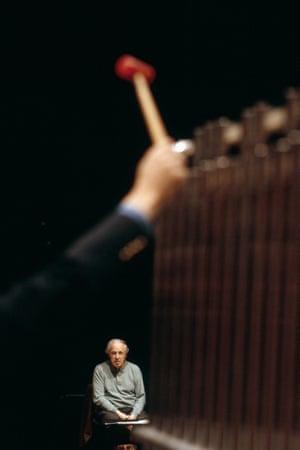 Pierre Boulez: 5 Nov 2002, Paris, France.