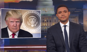'I know they're struggling right now but I hope that Twitter never goes out of business because without them, we'd never know who the president really is' ... Trevor Noah.