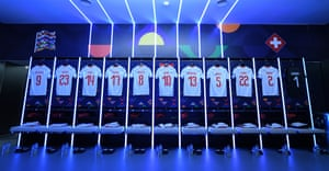 Switzerland dressing-room.
