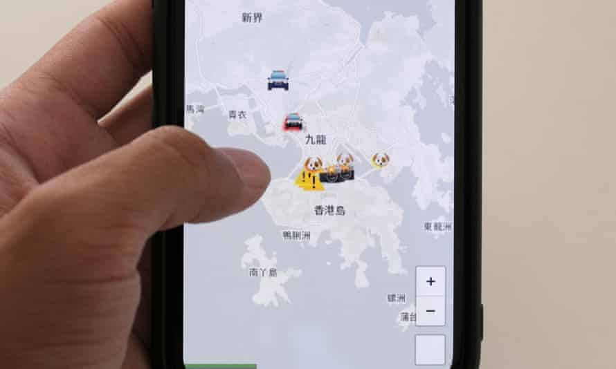 The HKmap.live App