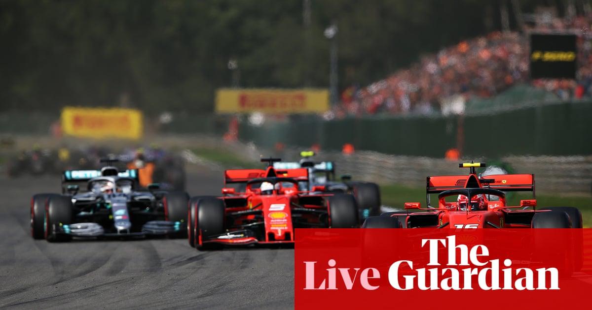 F1 Belgian Grand Prix – live!