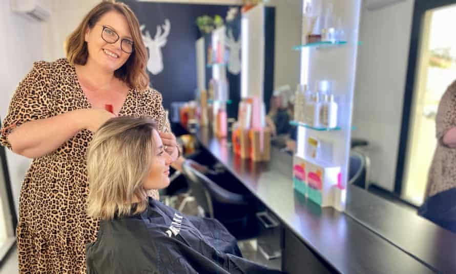 Kristi Lauren at Brisbane's Pout Hair salon
