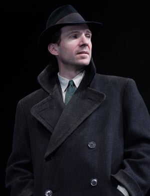 Fiennes in Brian Friel's Faith Healer, at Broadway's Booth theatre, directed by Jonathan Kent, in 2006.