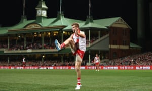 Alex Johnson, Swans v Magpies