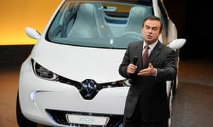 Carlos Ghosn presents Renault's 2010 results