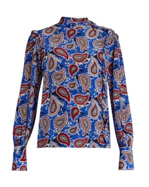 Paisley print, £360, Dodo Bar Or, matchesfashion.com.