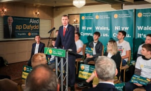 Adam Price launches Plaid Cymru's general election campaign