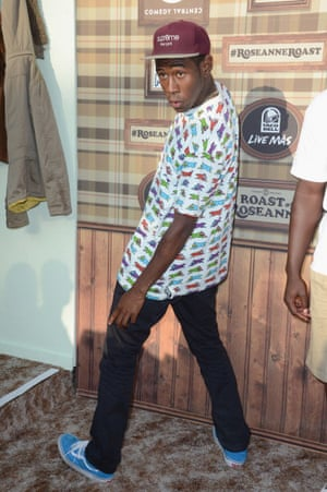 Tyler, the Creator shows a Fresh Prince influence.