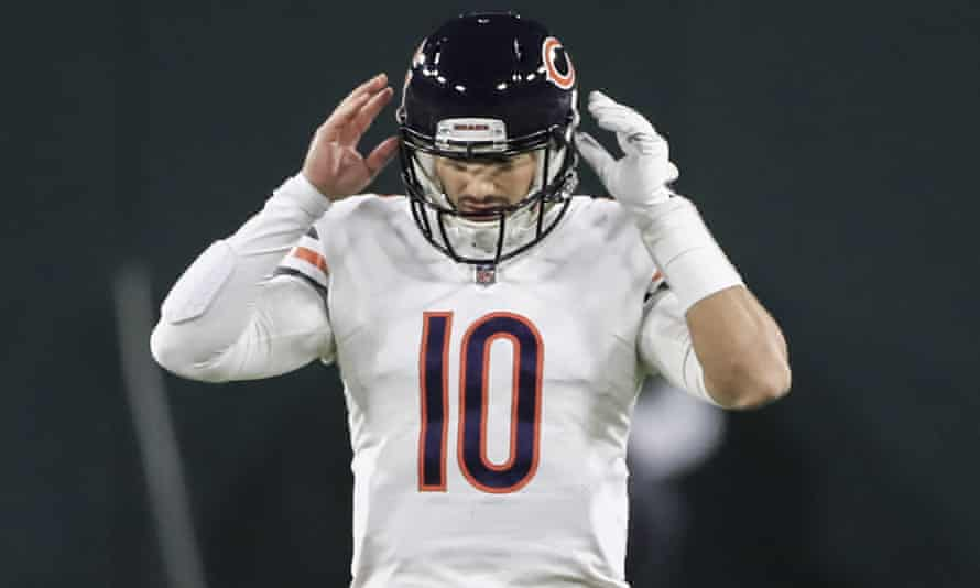 Mitchell Trubisky was in excellent form on Sunday