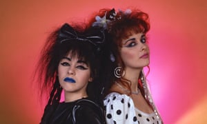 Strawberry Switchblade, whose hit Since Yesterday was a top five hit.