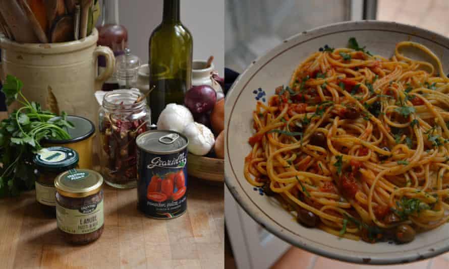 Rachel Roddy's classic Neapolitan puttanesca sauce recipe