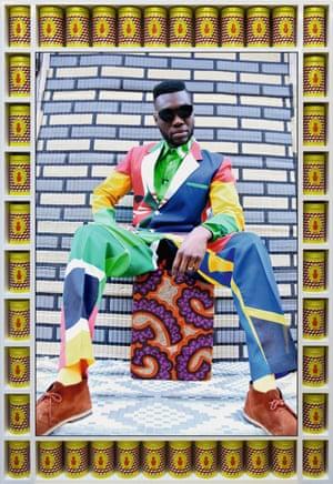 Afrikan Boy Sittin' by Hassan Hajjaj, 2013