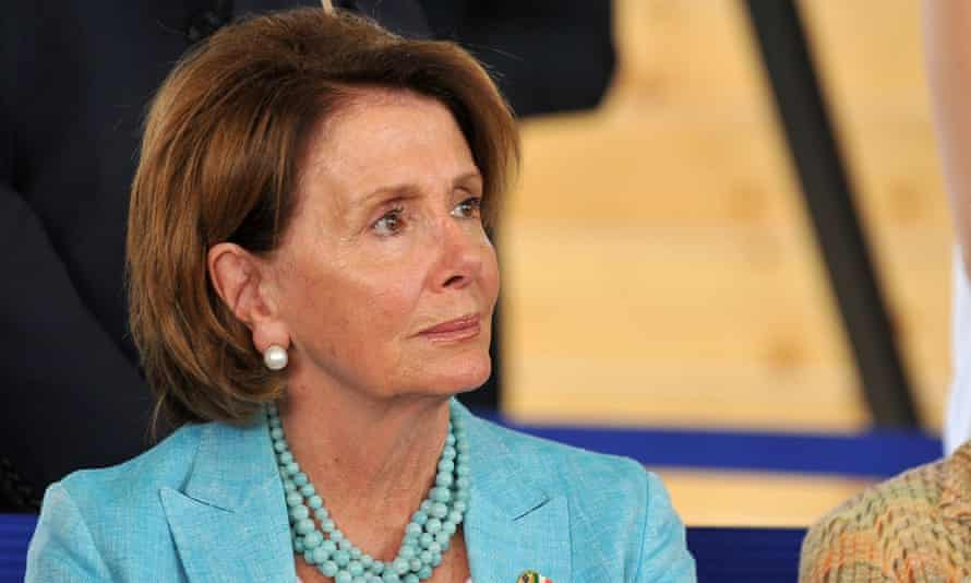 Nancy Pelosi, the House of Representatives minority leader