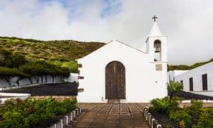 Chapel, Our Lady of the Kings (Santuario de Nuestra Senora de Los Reyes), El Hierro, Canary Islands.