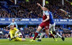 Declan Rice is denied.