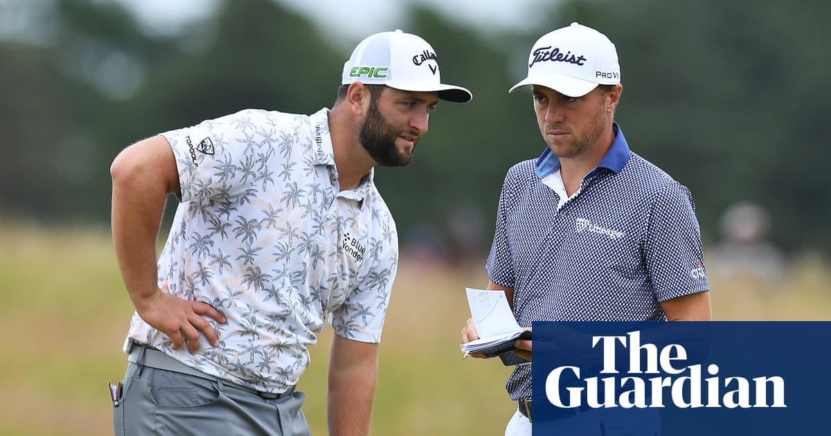 Jon Rahm takes route 66 to sit pretty behind Scottish Open leaders