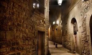 El Call Jewish quarter, Barcelona, Catalonia, Spain