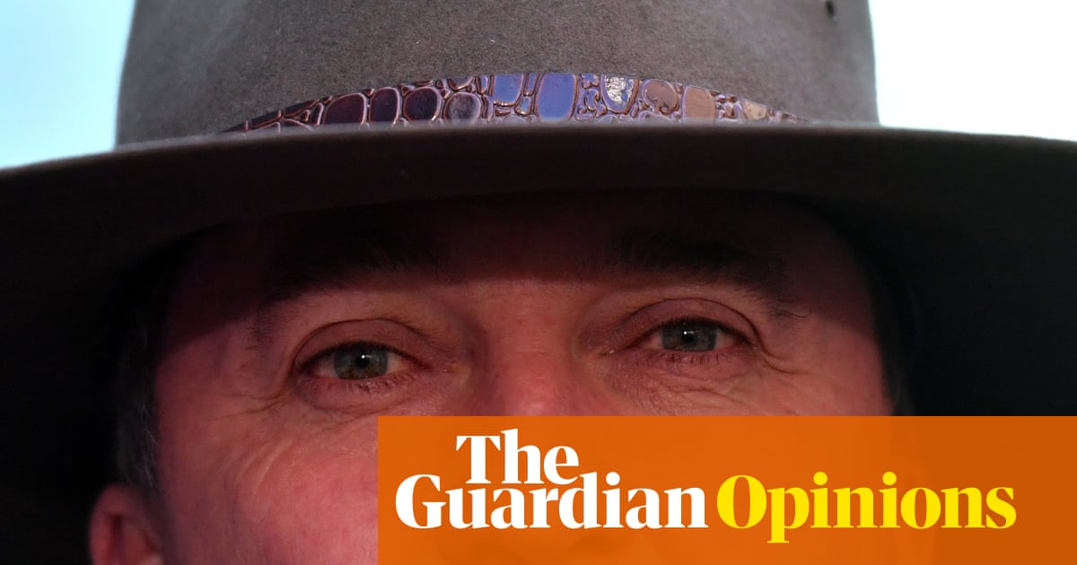 In this mess of his own creation, Barnaby Joyce's self-pity was