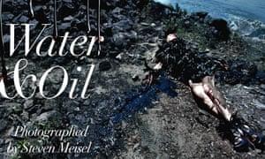 In deep water: from Steven Meisel's Water & Oil story.