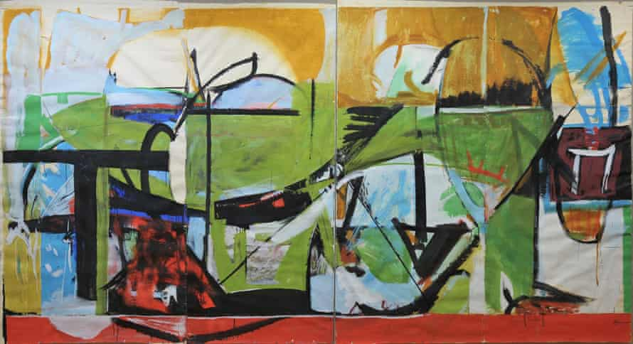 Lanyon's 1963 sketch for Birmingham University.