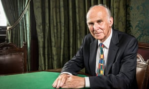 Vince Cable follows in the footsteps of Chris Mullin, Douglas Hurd, Michael Dobbs and Ann Widdecombe.