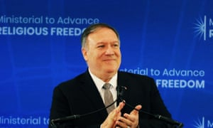 Mike Pompeo accused China of the 'stain of the century' in its treatmentof Uighur Muslims.