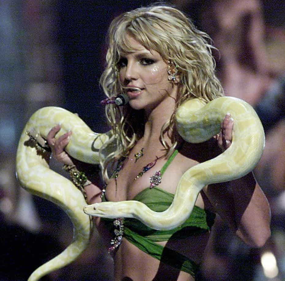 Britney Spears in 2001.