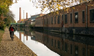 The Grand Union Canal in Leicester. John Hood, of the Equality Trust, said the area faces higher than average unemployment.