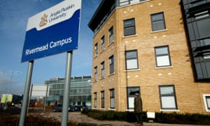 Part of Anglia Ruskin University in Chelmsford, Essex