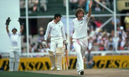 England's Bob Willis