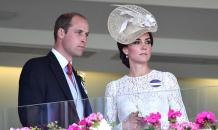 The Duke and Duchess of Cambridge at Ascot earlier this year.
