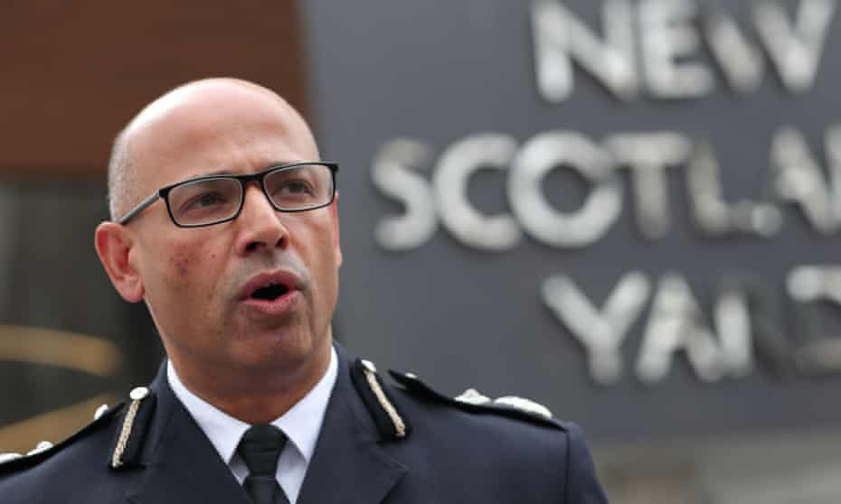 Metropolitan police assistant commissioner Neil Basu
