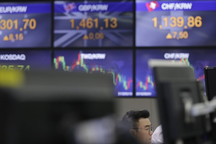FTSE 100 slides to seven-month low as Wall Street falls – as