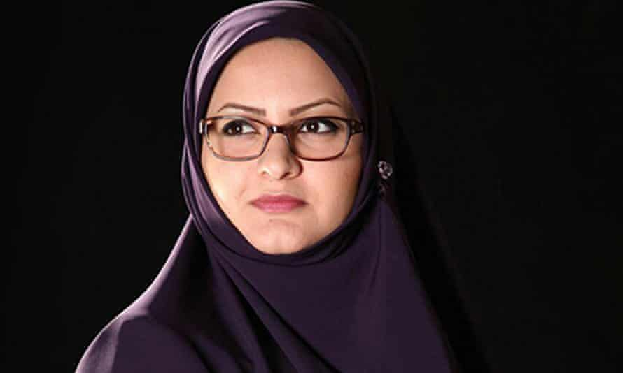 Iranian MP Minoo Khaleghi was one of 14 women elected to the 290-seat parliament in February