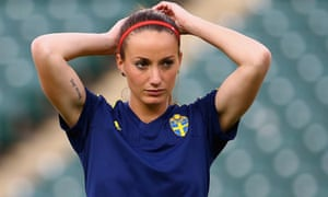 The Sweden striker Kosovare Asllani will be a threat for Manchester City.