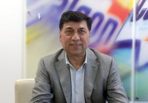 Rakesh Kapoor, the CEO of Reckitt Benckiser.