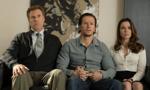 Will Ferrell, Mark Wahlberg and Linda Cardellini in a still from Daddy's Home