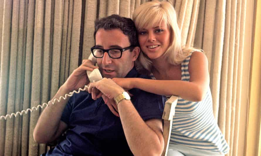 BRITT EKLAND with husband Peter Sellers in 1965