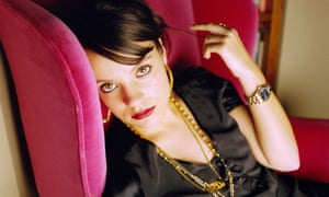 'She looks so traditionally feminine that her foul mouth and bellicose nature are amusing surprises' ... the New York Times on Lily Allen.