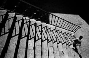 Boy at Bottom of Stairs, Guanajuato, 1993