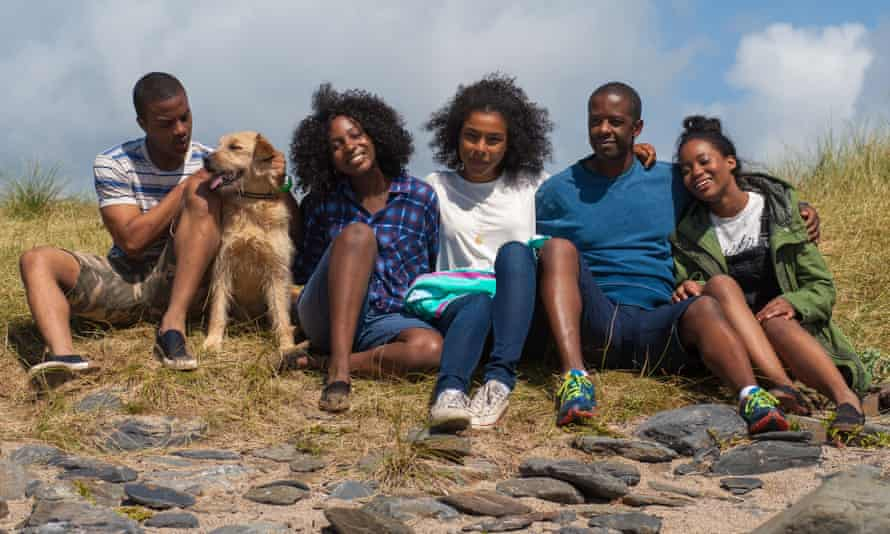 Maya (Sophie Okenedo) and her family in Undercover