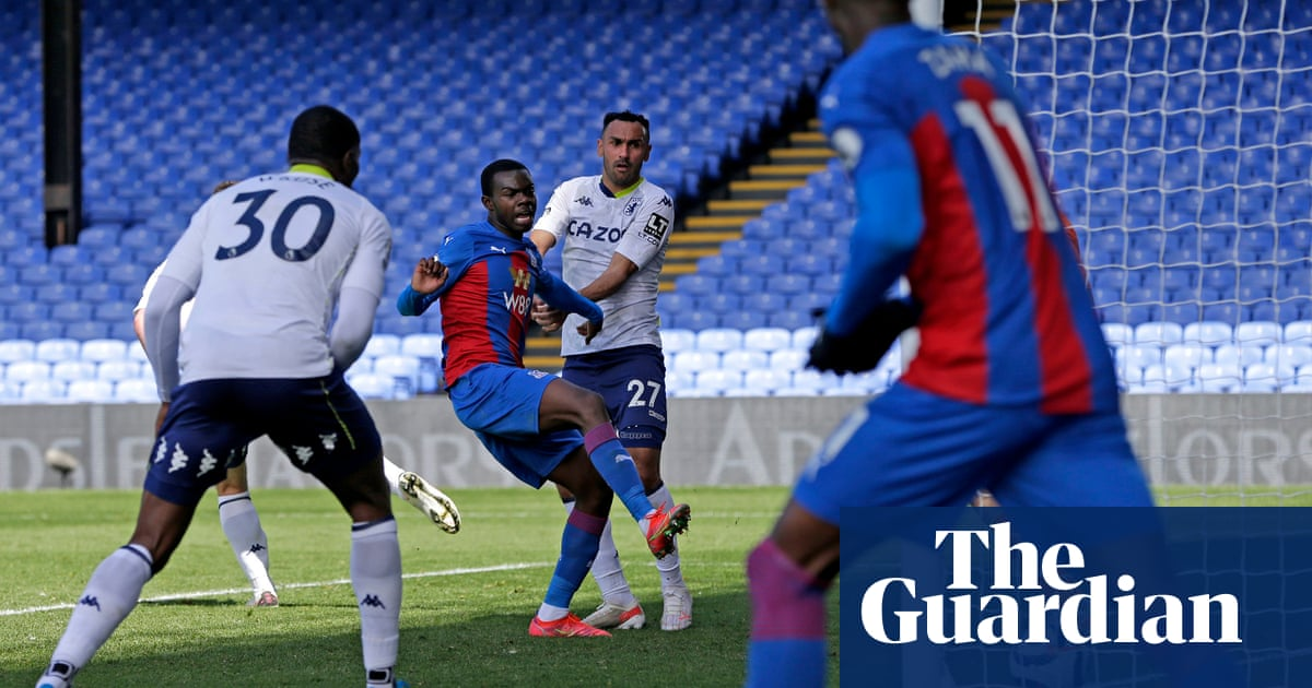 Mitchell scores first Crystal Palace goal to seal comeback win over Aston Villa