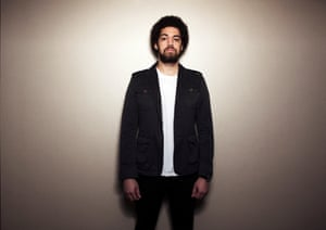 Songwriter and producer Brian Burton, aka Danger Mouse.