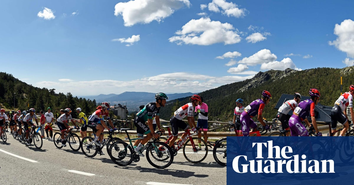 Vuelta a España: Primoz Roglic closes in on glory after stage 18