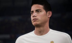 EA Sports is looking to capture the individual skills and personalities of players like James Rodriguez